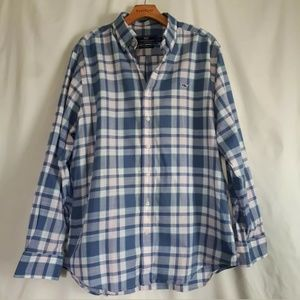 Vineyard Vines Slim Fit Whale Shirt Size Large
